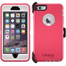 Apple Otterbox Rugged Defender Series Case and Holster - Neon Rose 77-50312