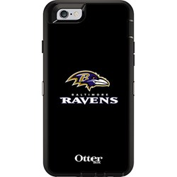 Apple Otterbox Defender Rugged Interactive Case and Holster - NFL Baltimore Ravens  77-52154