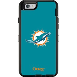 Apple Otterbox Defender Rugged Interactive Case and Holster - NFL Miami Dolphins  77-52160