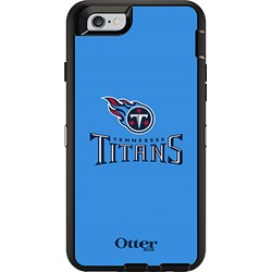 Apple Otterbox Defender Rugged Interactive Case and Holster - NFL Tennessee Titans  77-52170