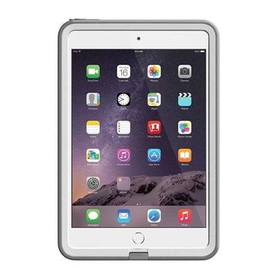 100% authentic c2b1e 6a811 Apple iPad Mini Lifeproof Fre Waterproof Case - White and Grey 77-50779