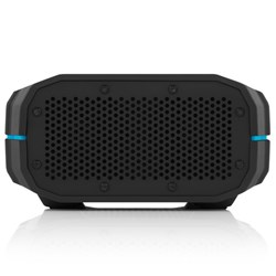 Braven BRV-1 Water-Resistant Wireless Speaker - Black with Cyan Relief  BRV1BCB