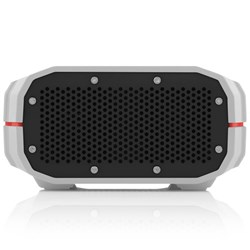 Braven BRV-1 Water-Resistant Wireless Speaker - Gray wtih Red Relief  BRV1GRB