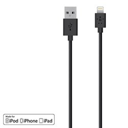 Belkin 48 inch Mixit Lightning Usb To Usb Charge-sync Cable - Black
