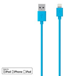 Belkin 48 inch Mixit Lightning Usb To Usb Charge-sync Cable - Blue