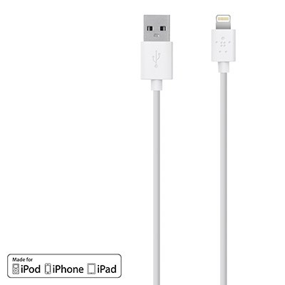 Le Iphone 6 Belkin 48 Inch Mixit Lightning Usb To Charge Sync Cable White