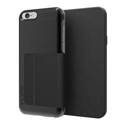 Apple Compatible Incipio Highland Folio Case - Black and Black  IPH-1183-BLK