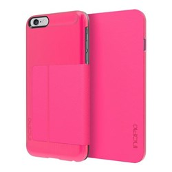Apple Compatible Incipio Highland Folio Case - Pink and Pink IPH-1199-PNK