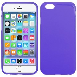 Apple Compatible Solid Color TPU Case - Purple  IPH6-PU-TPU