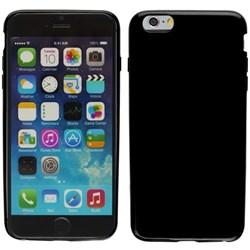 Apple Compatible Solid Color TPU Case - Black  IPH6PLUS-BLK-1TPU
