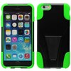 Apple Compatible Dual Layer Cover with Kickstand - Neon Green  IPH6PLUS-NGR-1HYB Image 2