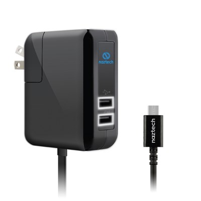 Naztech N422 TRiO Wall Charger  N422W-12434