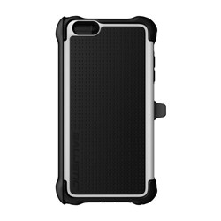 Apple Ballistic Tough Jacket Maxx Case and Holster - Black and White TX1429-A08C
