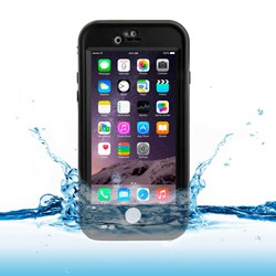 Apple Compatible Naztech Vault Plus Waterproof Cover - Black - Black 12488-NZ