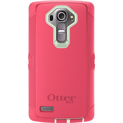 sale retailer f2747 ab51a LG G4 Otterbox Rugged Defender Series Case and Holster - Melon Pop 77-51527
