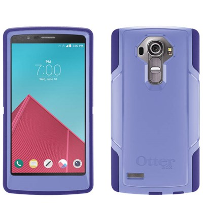 classic fit c1ded eafc8 LG G4 Compatible Otterbox Commuter Rugged Case - Purple Amethyst 77-51545