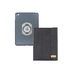 Apple Otterbox Agility Portfolio and Shell Combo - Black Leather