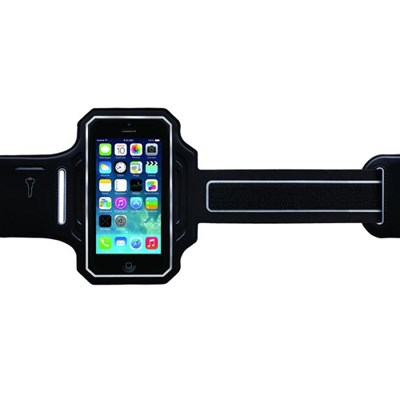 Body Glove Endurance Armband - Black and Silver  9488001