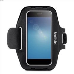 Belkin Sport-fit Armband For Small Devices (up To 5.5 In) - Blacktop