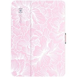 Apple Speck Products Stylefolio Case - Fresh Floral Pink and Nickel Gray  SPK-A3334