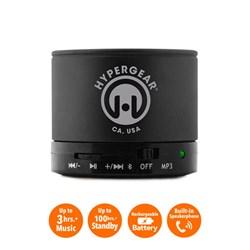 HyperGear MiniBoom Wireless Speaker with Built-in FM Radio- Black  13211