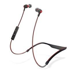 HyperGear Flex Wireless Earphones - Black and Red  13309-NZ