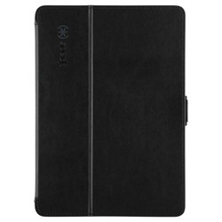 Apple Compatible Speck Stylefolio Fitted Case - Black and Slate Grey 70873-B565