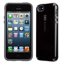 Apple Speck CandyShell Rubberized Hard Case - Black and Slate Grey  71151-B565
