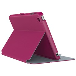 Apple Speck Products Stylefolio Case - Fuchsia Pink and Nickel Gray 71805-B920