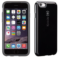 Apple Speck CandyShell Case - Black and Slate Grey  73427-B565
