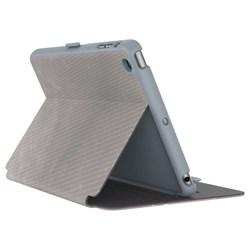 Apple Speck StyleFolio Luxe Textured Metallic Perf Titanium - Nickel Grey - Soot Grey  73958-C241