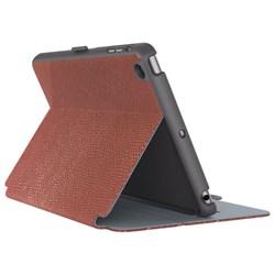 Apple Speck StyleFolio Luxe Textured Metallic Clay Red - Nickel Grey - Slate Grey  73958-C242