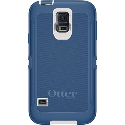 huge selection of aa2ab 8129a Samsung Galaxy S5 Otterbox Defender Rugged Interactive Case and Holster -  Blue Chill 77-44853