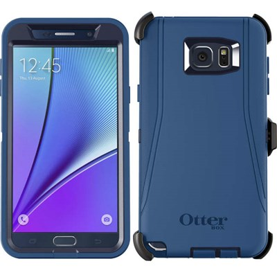 more photos 271a6 4682b Samsung Galaxy Note5 Otterbox Defender Rugged Interactive Case and Holster  - Indigo Harbor 77-52048