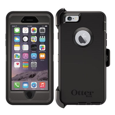 the latest 37af9 daed7 Apple iPhone 6 Otterbox Defender Rugged Interactive Case and Holster Pro  Pack - Black 77-52829