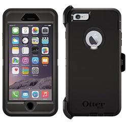 Apple Otterbox Rugged Defender Series Case and Holster Pro Pack - Black