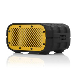 Braven BRV-1 Water-Resistant Wireless Speaker - Black with Yellow Speaker BRV1BBY