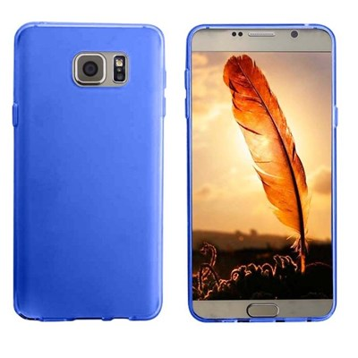 Samsung Compatible Solid Color TPU Case - Blue  SAMGN5-BL-1TPU
