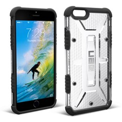 Apple Compatible Urban Armor Gear Composite Hybrid Case - Ice and Black  UAG-IPH6PLS-ICE