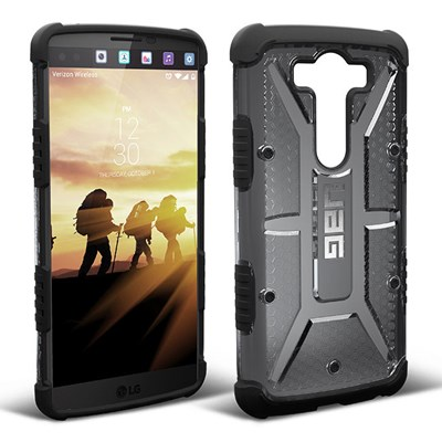 sports shoes a979d 895d8 LG V10 Urban Armor Gear Composite Hybrid Case - Ash and Black UAG-V10-ASH