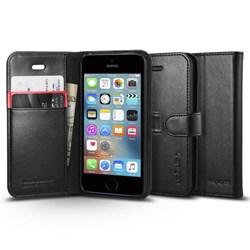 Apple Compatible Spigen Sgp Wallet S Case With Card Holder - Black  041CS20191