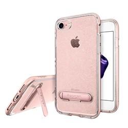Apple Spigen Crystal Hybrid Case With Kickstand - Rose Quartz Glitter  042CS21213