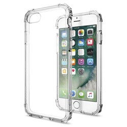 Apple Compatible Spigen Crystal Shell Case - Crystal Clear  043CS20314
