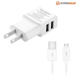 HyperGear 2A Wall Charger and Micro USB Cable Combo  13457-NZ
