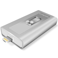 Naztech Xtra Drive MFi Lightning Up to 128GB Silver