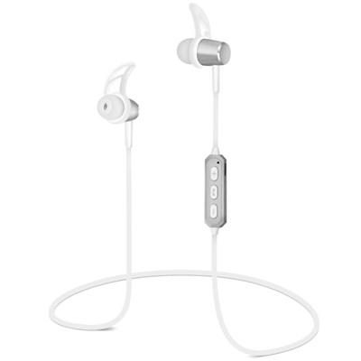 HyperGear MagBuds Wireless Aluminum Alloy Earphones - Silver