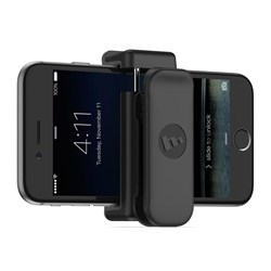Mophie Universal Belt Clip - Fits Most Smartphones Up To 3.5in Width - Black