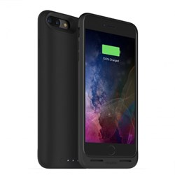 Mophie Juice Pack Air Rechargeable External 2420mAh Battery Case With Built In Wireless Charging - Black