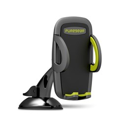 Puregear Universal Car Mount (suction Grip Or Air Vent Clip Option) - Black