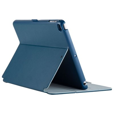 Apple Compatible Speck Products Stylefolio Case - Deep Sea Blue and Nickel Gray  70873-B901